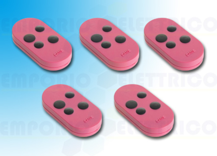 came 5 x 4-channel transmitter fixed code pink topod4fps 806ts-0105